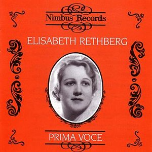 Image for 'Prima Voce: Rethberg'