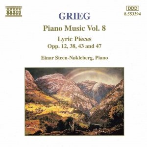 Image for 'GRIEG: Lyric Pieces, Books 1 - 4, Opp. 12, 38, 43 and 47'
