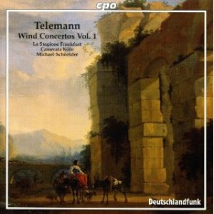 Image for 'Telemann, G.P.: Wind Concertos, Vol. 1 - Twv 43:G3, 51:D1, 51:E1, 52:D2, E1'