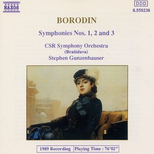 Image for 'Borodin: Symphonies Nos. 1, 2 and 3'