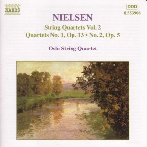 Image for 'NIELSEN, C.: String Quartets, Vol.  2'