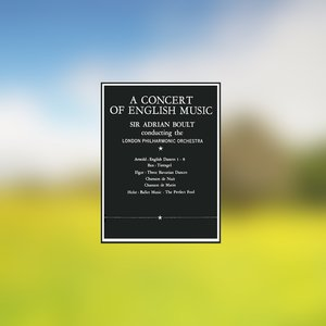 Immagine per 'A Concert of English Music (Remastered)'