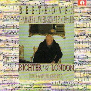 Image for 'Beethoven : Sonata No.29 In Si Bemole Maggiore, Op.106 (Un homme de concert  2 (Live in London))'