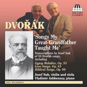 Image for 'Dvorak, A.: Song Transcriptions for Violin/Viola and Piano'