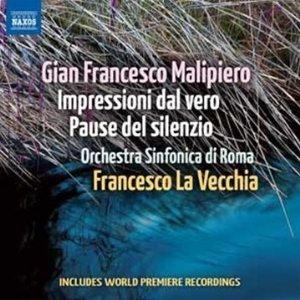 Image for 'Malipiero: Impressioni dal vero - Pause del silenzio'