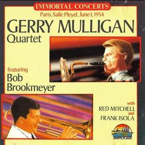 Image for 'Gerry Mulligan Quartet, Paris, Salle Pleyel June 1 1954'