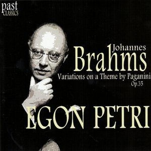 Image for 'Brahms: Variations on a Theme by Paganini, Op. 35'
