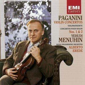 Image for 'Paganini: Violin Concerto Nos 1 & 2'