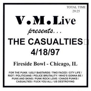 Immagine per 'VML Live: The Casualties'