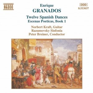 Image for 'GRANADOS: Spanish Dances / Escenas Poeticas'