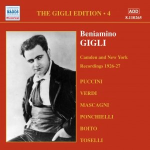 Image for 'GIGLI, Beniamino: Camden and New York Recordings (1926-1927)'