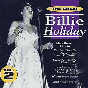 Image pour 'The Great Billie Holiday - Vol. 2'
