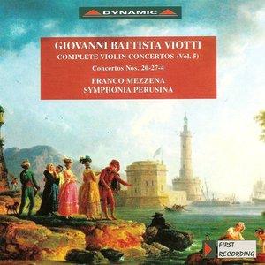 Image for 'Viotti: Violin Concertos (Complete), Vol. 5 - Nos. 4, 20, 27'