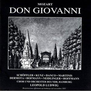 Bild för 'Mozart:  Don Giovanni - Schoffler - Dango - Dermota - Martinis - Kunz - Neidlinger - Chor und Orchester des NDR - Leopold Ludwig'