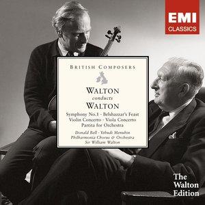 Image for 'Walton conducts Walton: Symphony No. 1, Belshazzar's Feast etc'