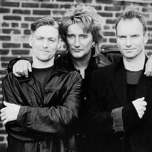 Bryan Adams, Rod Stewart & Sting