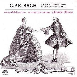 Image for 'C.P.E. Bach: Symphonies Nos. 1-4'