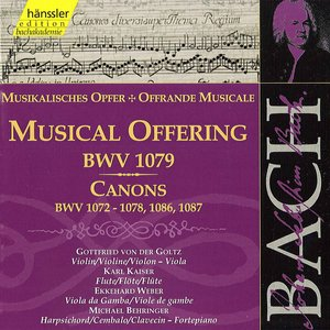Image for 'Musical Offering, BWV 1079: Ricercar a 6'