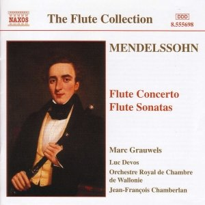 Image for 'MENDELSSOHN: Flute Concerto in D Minor / Flute Sonatas'