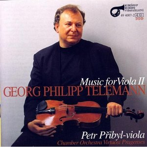 Image for 'G.P. Telemann: Music For Viola II'