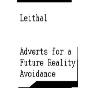 Image for 'Adverts for a future reaity avoidance'