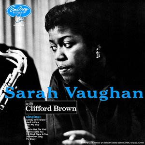 Image for 'Sarah Vaughan With Clifford Brown'