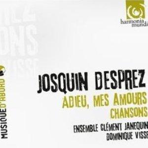 Image for 'Adieu, mes amours - Chansons (Ensemble Clement Janequin)'