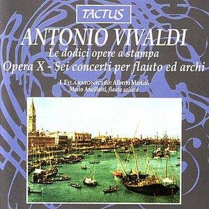 Image for 'Vivaldi: Opera X - Sei Concerti per Flauta ed Archi'