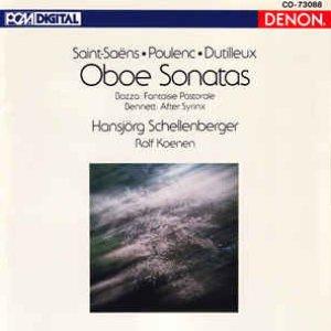 Immagine per 'Oboe Sonatas'