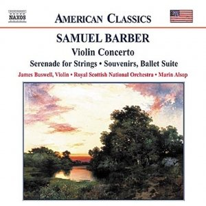 Image for 'BARBER: Violin Concerto / Serenade for Strings / Souvenirs'