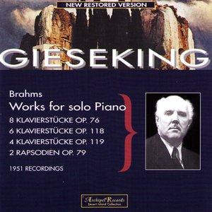 Image for '8 Klavierstücke Op.76 - Intermezzo in A flat Major'