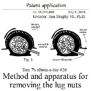 Image for 'Method and apparatus for removing the lug nuts'