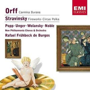 Image for 'Orff: Carmina Burana/Strawinsky: Feuerwerk'