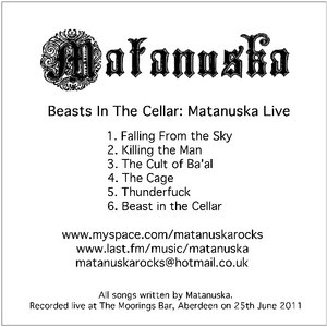 Image for 'Beasts In The Cellar: Matanuska Live'