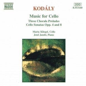 Image for 'KODALY: Three Chorale Preludes / Cello Sonatas Opp. 8 and 4'