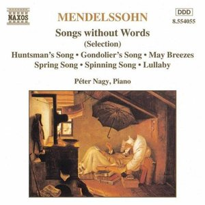 Image pour 'MENDELSSOHN: Songs without Words (Selection)'