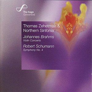 Image for 'Brahms: Violin Concerto / Schumann: Symphony No. 4'