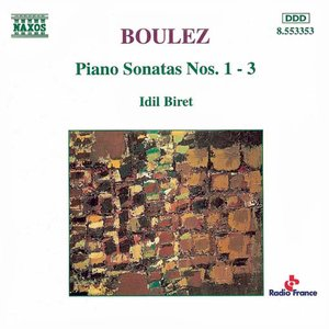 Image for 'Boulez: Piano Sonatas Nos. 1-3'