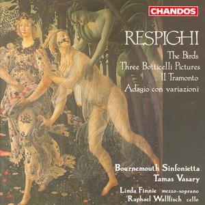 Image for 'Respighi: Gli Uccelli / Il Tramonto / Adagio Con Variazioni / Trittico Botticelliano'