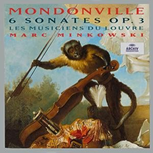 Image for 'Mondonville: 6 Sonates Op.3'
