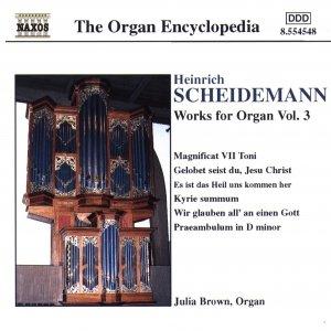 Image for 'SCHEIDEMANN: Organ Works, Vol.  3'