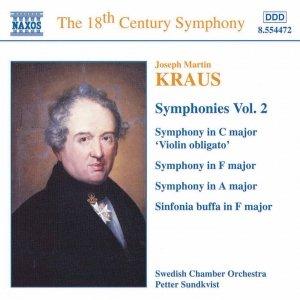 Image for 'KRAUS: Symphonies, Vol.  2'