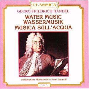 Image for 'Georg Friedrich Haendel : Water Music, Wassermusik, Musica sull'acqua'