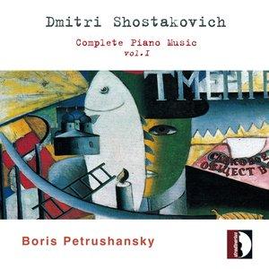 Image pour 'Dmitri Shostakovich : Complete Piano Music, Vol. 1'