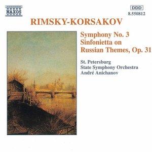 Image for 'Rimsky-Korsakov: Symphony No. 3 / Sinfonietta Op. 31'