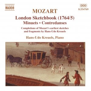 Image for 'MOZART: London Sketchbook'