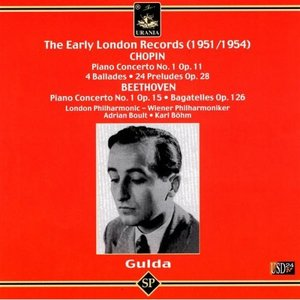 Imagem de 'The Early London Records - 1951/1954 - Chopin, Beethoven'