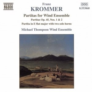 Immagine per 'KROMMER: Partitas for Wind Ensemble Op. 45, Nos. 1-2'