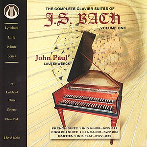 Image for 'Bach: The Complete Clavier Suites, Vol. 1'