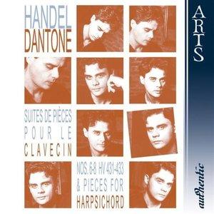 Bild für 'Händel: Suites de Piéces pour le Clavecin Nos. 6-8 HV 431-433 & Pieces for Harpsichord'